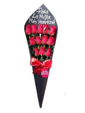 Cono de rosas
