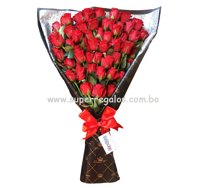 Ramo con 50 rosas