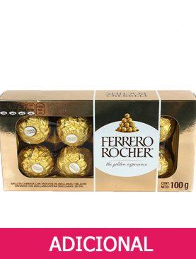 Chocolate Ferrero Rocher de 8 unidades en forma rectangular
