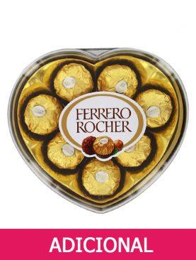 Chocolate Ferrero Rocher de 8 unidades en forma de corazón