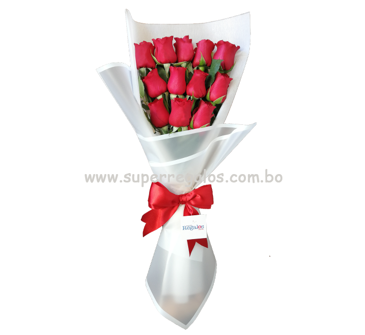 Ramo de 12 rosas - 0002