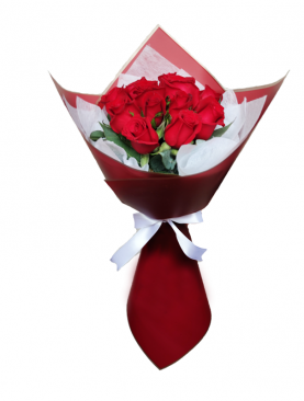 Ramo de 12 rosas - 0006