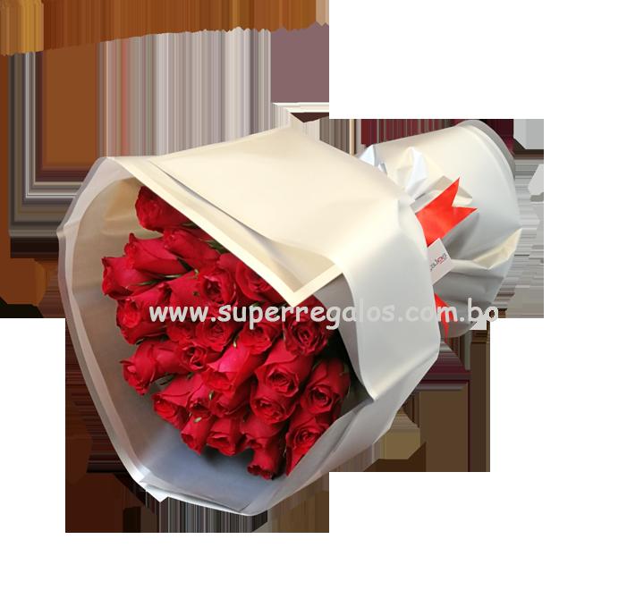 Ramo de 30 rosas - 0008