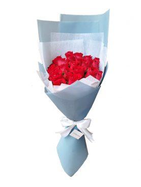 Ramo Blue 24 Rosas