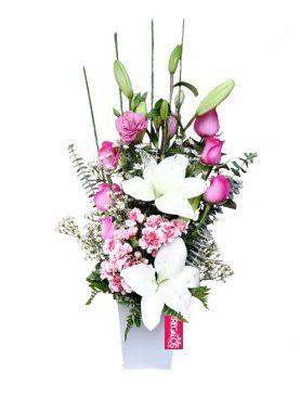 Arrego floral Sarah