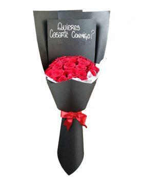 Ramo de 24 Rosas personalizado