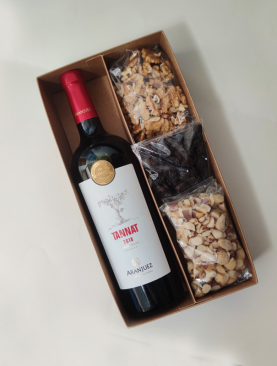 Box Vino tinto Aranjuez y Frutos Secos
