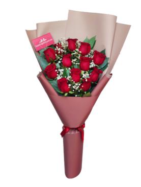 Ramo con 12 rosas - SR 0100